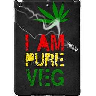 Kasemantra I Am Pure Veg Case For Apple Ipad Air