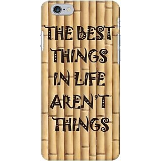 Kasemantra Quotes On Bamboo Case For Apple Iphone 6