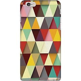 Kasemantra Triangle Colors Case For Apple Iphone 6 Plus