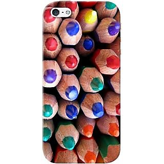 Kasemantra Colour Pencils Case For Apple Iphone 5-5S