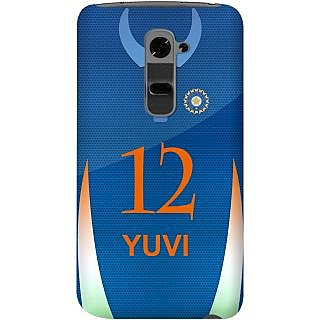 Kasemantra Yuvraj Jersey Case For Lg G2