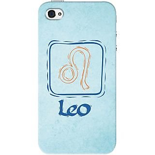 Kasemantra Attractive Leo Case For Apple Iphone 4-4S