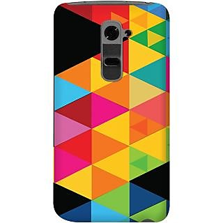 Kasemantra Multi Color Triangle Case For Lg G2