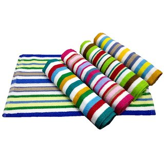 K Decor Beautiful Hand Towels  set of 5  (HT-01)