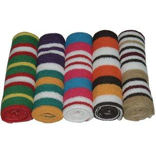 K Decor Beautiful Hand Towels  set of 5  (HT-03)