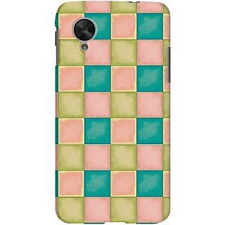 Kasemantra Oil Pastel Case For LG Google Nexus 5