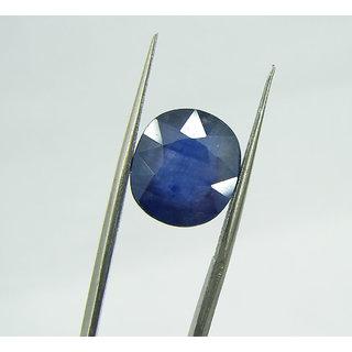 8 Ratti Attractive  Blue Sapphire (Neelam) Gemstone