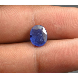 5.25 Ratti Lovely  Blue Sapphire (Neelam) Gemstone