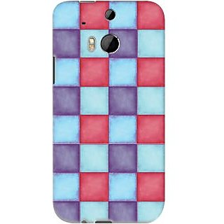 Kasemantra Pallette of colours Case For HTC One M8