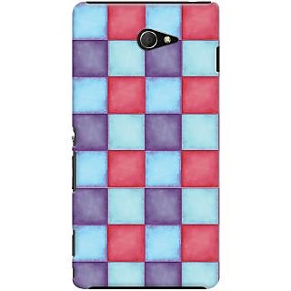 Kasemantra Pallette of colours Case For Sony Xperia M2 LTE D2303