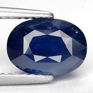 6.25 ratti Unprocessed 100% Natural Blue Sapphire (Neelam) Gemstone