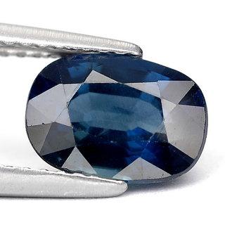 Natural Stylish Oval Shape 5.75 Ratti Blue Sapphire (Neelam) Gemstone