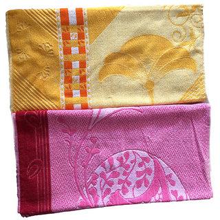 K Decor Beautiful Bath Towel  set of 2  (BT-01)