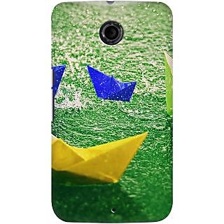 Kasemantra Paper Boats Case For LG Google Nexus 6