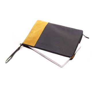 Friday Dressing Leather Laptop Bag