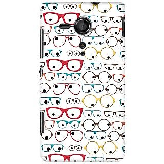 Kasemantra Quirky Spectacles Case For Sony Xperia SP C5302