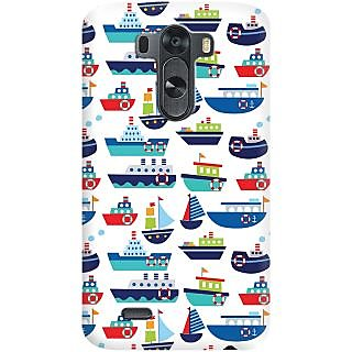Kasemantra River Boats Case For LG G3 D855
