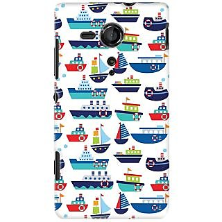 Kasemantra River Boats Case For Sony Xperia SP C5302