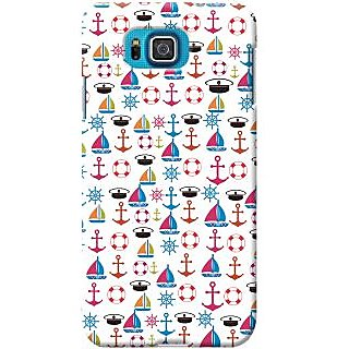 Kasemantra Sail The Boat Case For Samsung Galaxy Alpha SM-G850