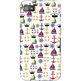 Kasemantra Sailor on Duty Case For Blackberry Z10