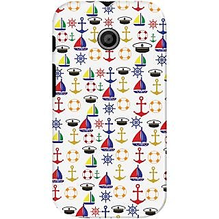 Kasemantra Sailor on Duty Case For Motorola Moto E