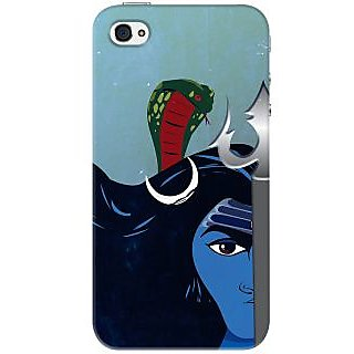 Kasemantra Shiva The Almighty Case For Apple iPhone 4, Apple iPhone 4S