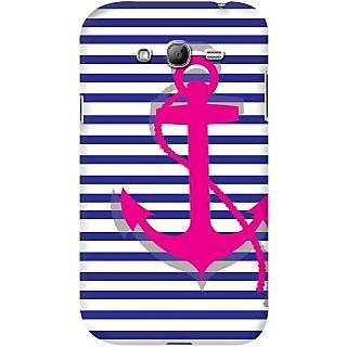 Kasemantra Striped Anchor Case For Samsung Galaxy Grand Duos I9082