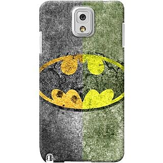 Kasemantra Superhero Batman  Case For Samsung Galaxy Note 4 SM N910