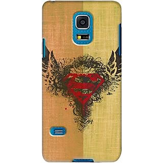 Kasemantra Superman Logo Case For Samsung Galaxy S5 SM-G900