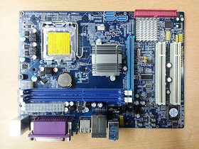 New G41 Motherboard With Intel Chipset ( Lga 775 Socket + Ddr3 Support )
