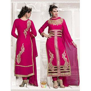 Admire18 Emroidered Heavy Designer Partywear Straight Suit 02