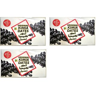 ORIGINAL KIMIA DATES 3's Pack 48 Dates Pcs  Premium Quality  From IRAN