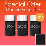 Caboki Hair Fibers Buy 2+get One Free 25g Black