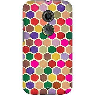 Kasemantra Hexagon Case For Moto X2