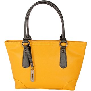 Bogota Yellow Colour Latest Trend Designer Tote bags-By Images