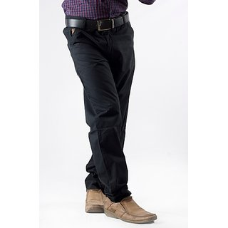 Men's Black Chinos Pant