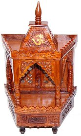 Shilpi Latest Wooden Temple/Mandir Extra Large Size Made From Sheesham Wood