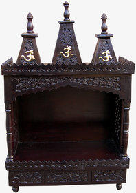Shilpi Mind Blowing Wooden Temple/Mandir Extra Large Size Made From Sheesham Wood