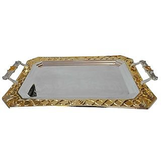 Serving Tray 2tone Cutting