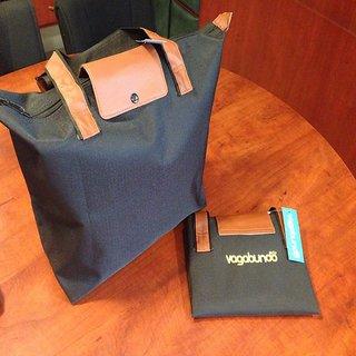Black Folding Bag