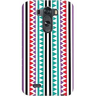 Kasemantra Tribal Print Case For Lg G3