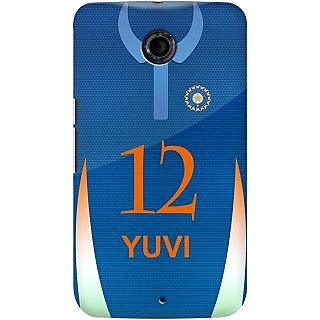 Kasemantra Yuvraj Jersey Case For Google Nexus 6