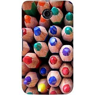 Kasemantra Colour Pencils Case For Google Nexus 6