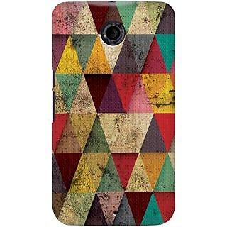 Kasemantra Triangles In Grunge Case For Google Nexus 6