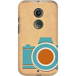 Kasemantra Retro Camera Case For Moto X2