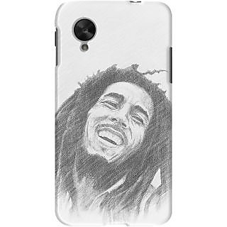 Kasemantra Legend Bob Marley Case For Google Nexus 5