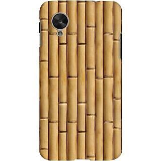 Kasemantra Bamboo Texture Case For Google Nexus 5