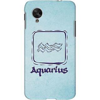 Kasemantra Romantic Aquarius Case For Google Nexus 5