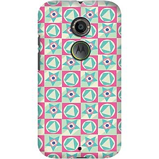 Kasemantra Star Circle Case For Moto X2