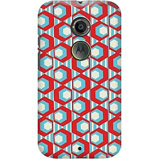 Kasemantra Geometric Pattern Case For Moto X2